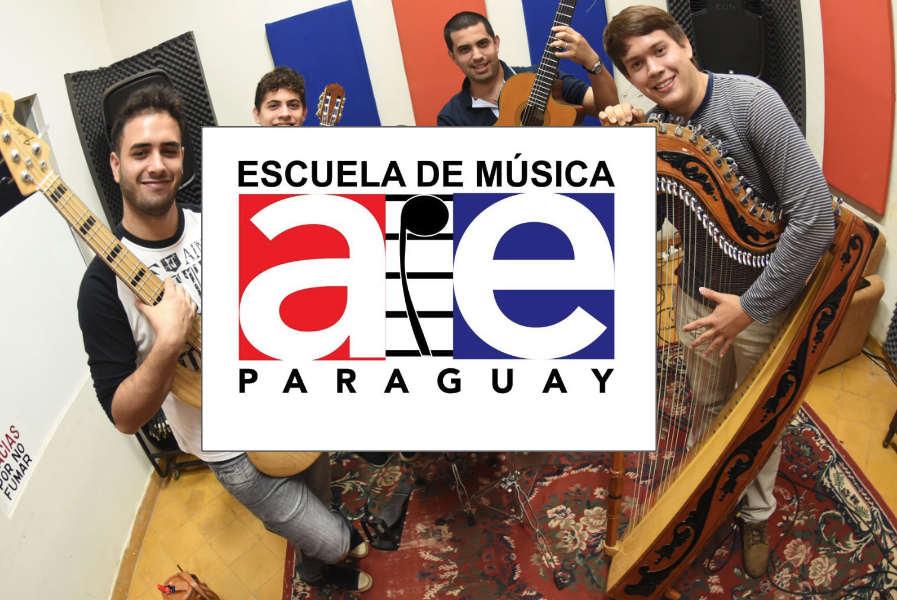 AIE Paraguay presenta Escuela de Música